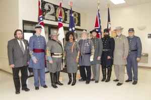 Culpeper UDC Guest Speaker with Officers of the Corps Jan 2016
